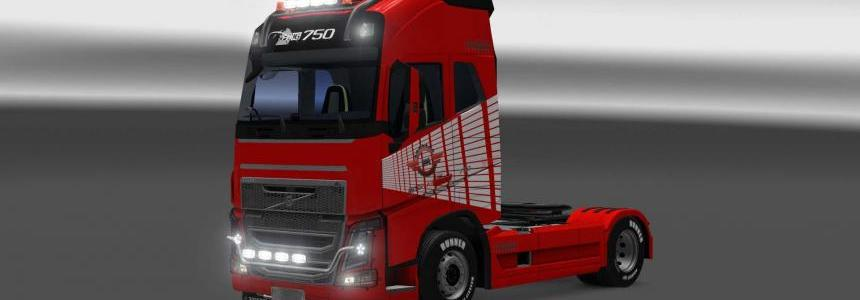 Volvo FH16 2013 Avtoreal skin 1.26