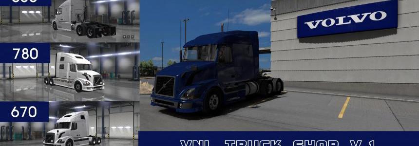 VOLVO VNL TRUCK SHOP v1