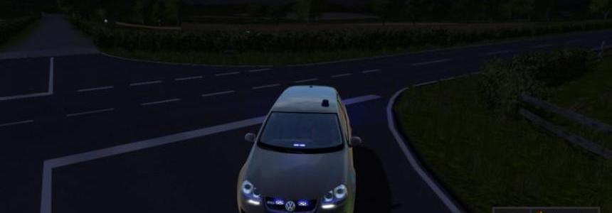 VW Golf 5 Unmarked Police update v2.0