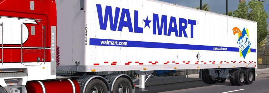 WALMART Great Dane Old Dry Van