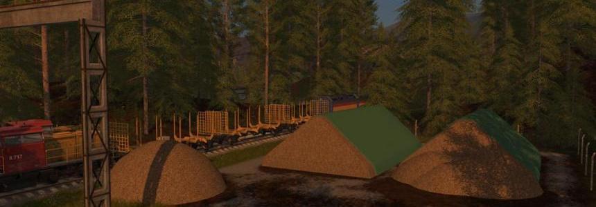 Woodchip Heap (Prefab) v1.0