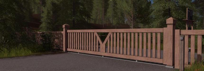 Wooden Gate (Prefab) v1.0
