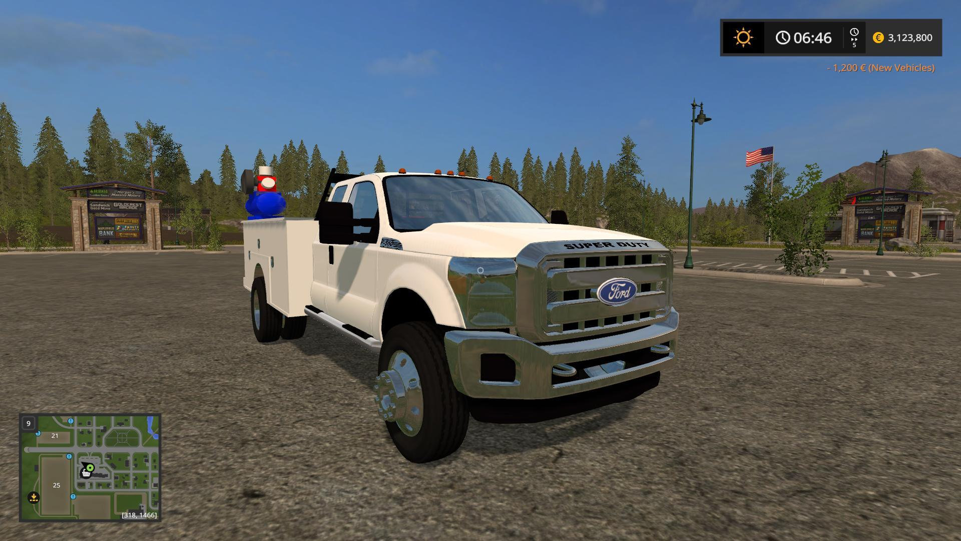 Ford f550 service V1