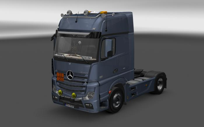 MERCEDES ACTROS MP4 V7