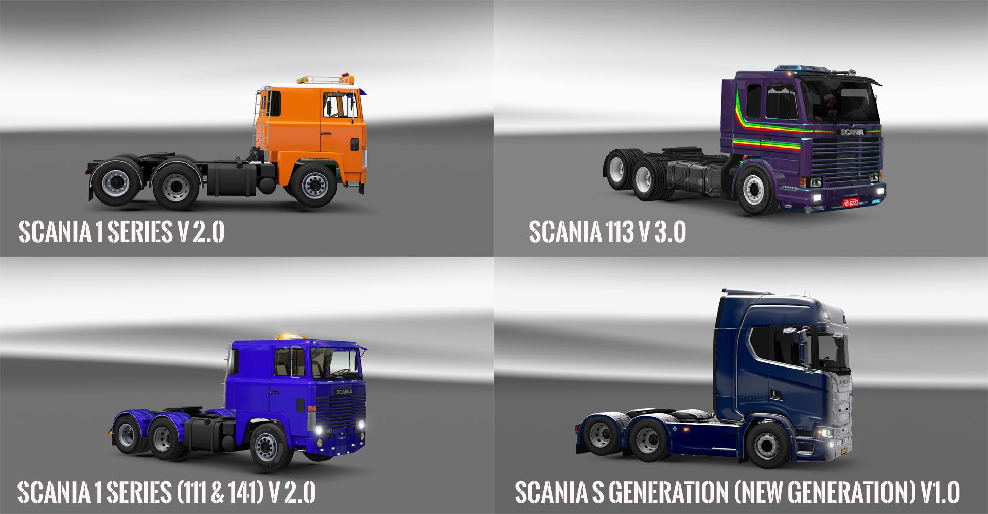 PACK V10.5 COMPT. TRUCKS WITH POWERFULL V10.4