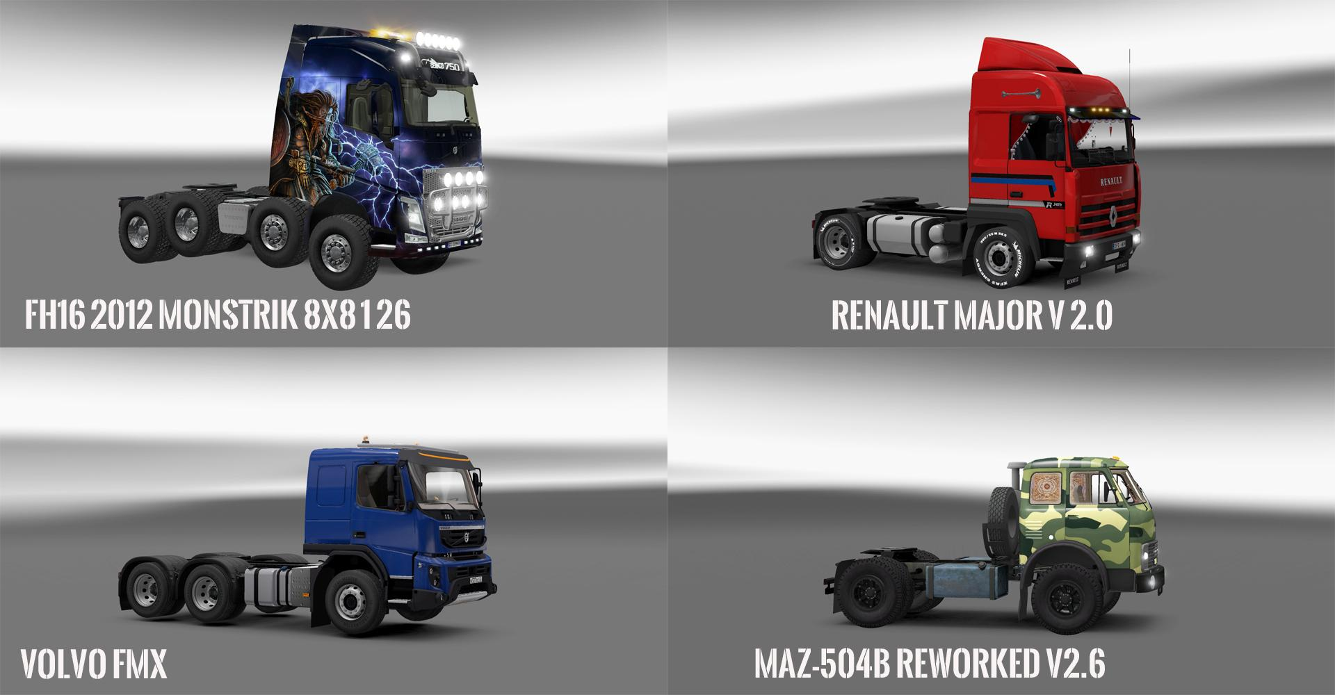 PACK V10.6 COMPT. TRUCKS WITH POWERFULL V10.4
