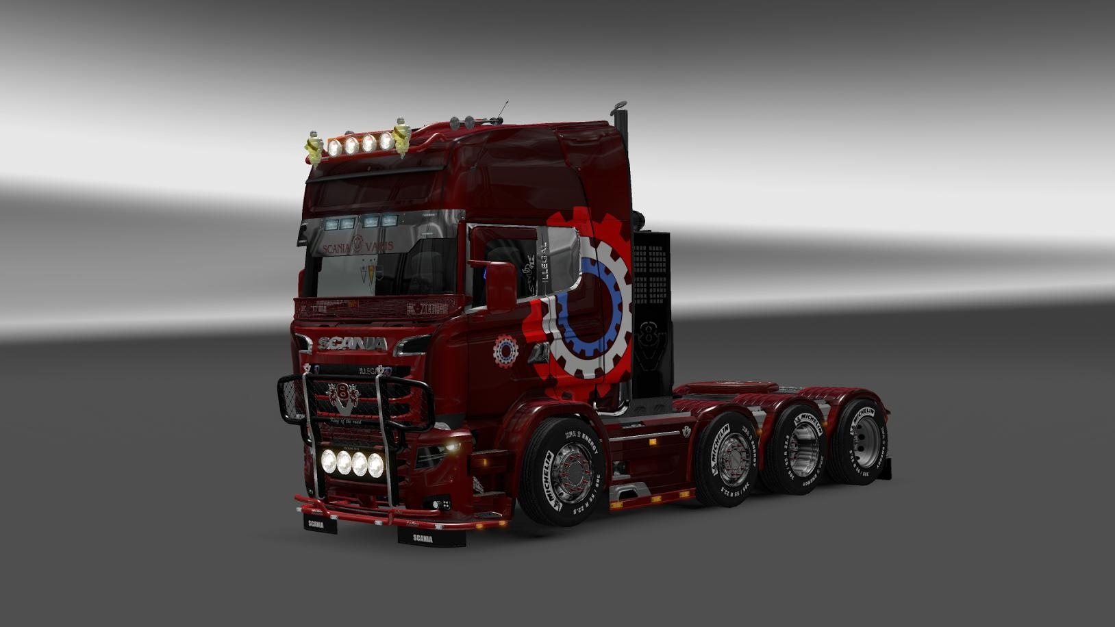 Scania R&S v 7.0 by Carls1309 [1.26.X]
