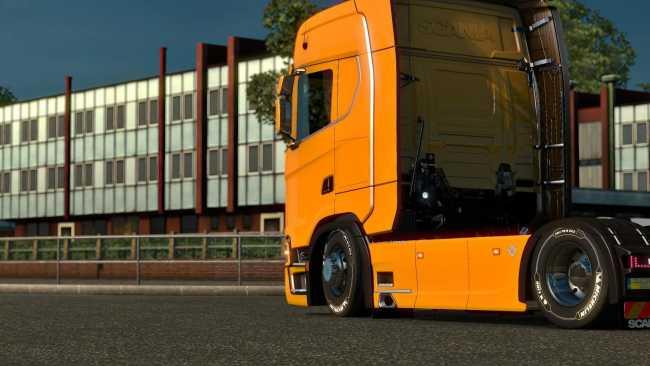 Scania S 2017 Low Chassis v 1.0