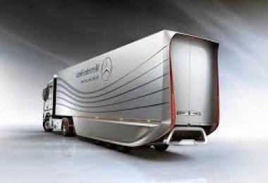 Mercedes Benz Aero Trailer concept