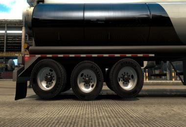 Trailer liftable axles