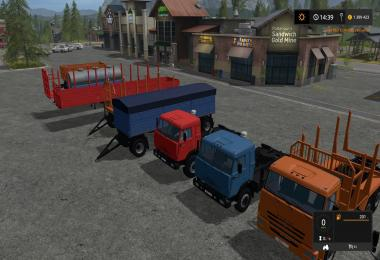 Pack KAMAZ Farming simulator 17 v1.0
