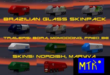 Brazilian glass transport pack