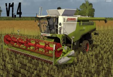 Claas Lexion 700 STAGE IV Pack v1.4.2