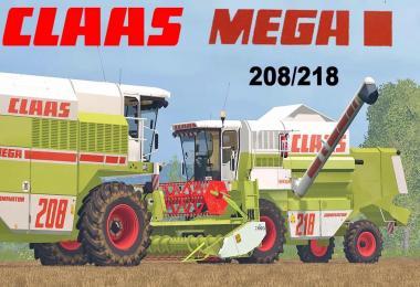Claas Mega 208 v1.0