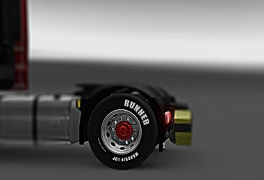DAF Chrome Wheels [1.27] v1.0