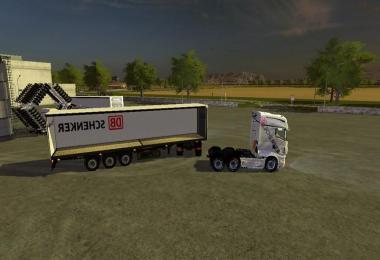 DB Schenker semitrailers v1.0