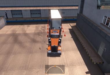 Dispatcher with a marker of the trailer when loading v1.1