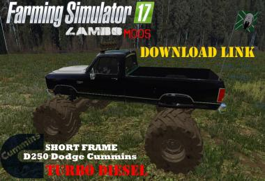 Dodge Cummins Monster Truck v1.0
