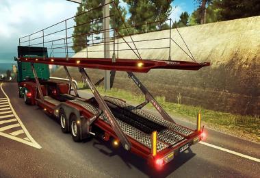 Empty Trailers Car Transport v1.0