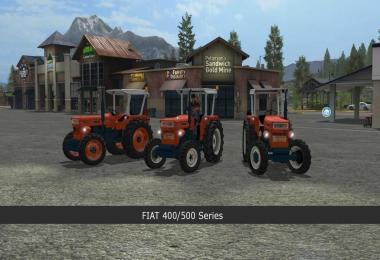 Fiat 400/500 series v1.0.0.4