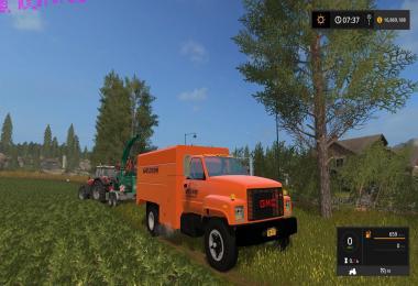 GMC Asplundh Tree Truck v1