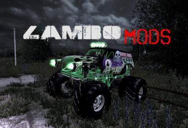 GraveDigger Monster Truck v2