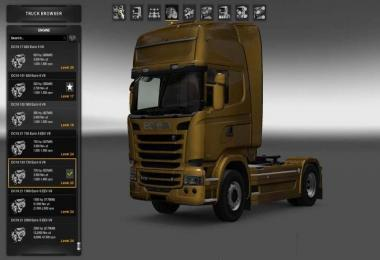 HIGH POWER ENGINES for all trucks 1.27