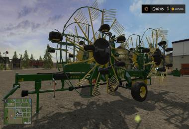 John Deere 1252 Windrower v1.0