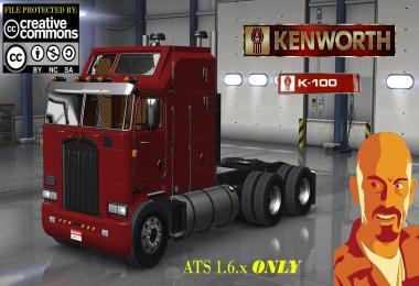 Kenworth K100 (ATS 1.6.x) 1.6.x