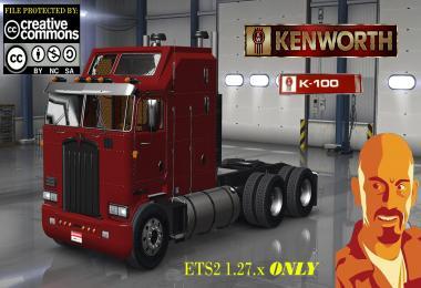 Kenworth K100 (ETS2 1.27.x)