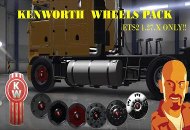 Kenworth Wheels Pack (ETS2 Version) 1.27.x