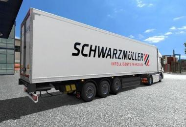 Liftable axle for default trailers