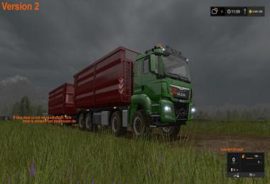 MAN TGS 8x8 with HVAC v2.0