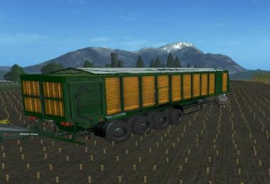 MBJ chopped semitrailers incl. Dolly v1