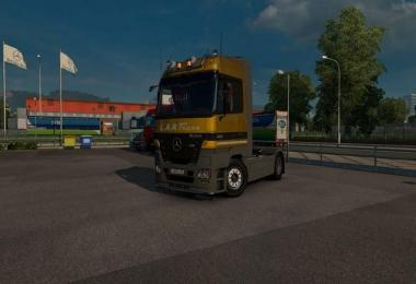 Mercedes-Benz Actros MP2 1.26