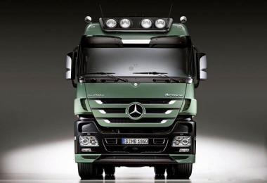 Mercedes-Benz Actros MPIII OM502LA V8 Sound 1.26.х