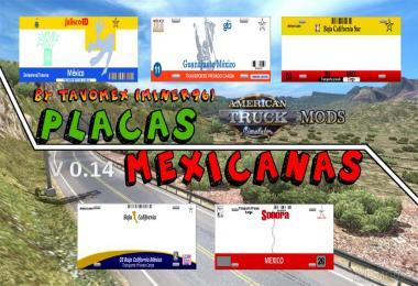 Mexican plates v0.14 Beta