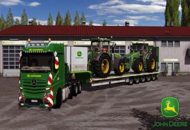 MP4 John Deere whit Doll Panther v1.0