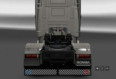 Mudguards for Scania S and R v1.0
