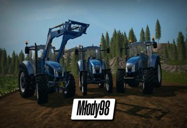 New Holland T5 Tier 4A + 750TL v1.0