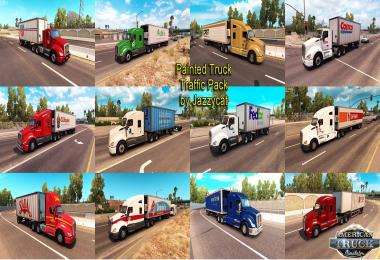 Painted truck and trailers traffic pack by Jazzycat v1.0.2