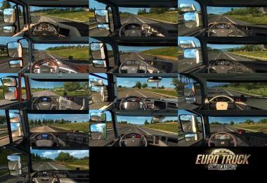 Real Interior Cams ETS2 v1.3.6