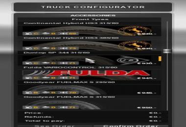 Real Tires Mod [1.6.X] v2.1
