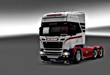 Scania RJL The Legend Skin 1.26-1.27x