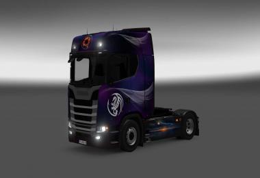 Scania S580 Fantasy skin 1.26