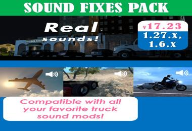Sound Fixes Pack v17.23 [1.6/1.27 open beta]