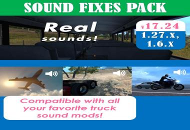 Sound Fixes Pack v17.24 [1.27 open beta]