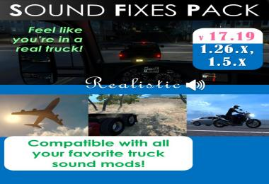 SOUND FIXES PACK v17.22