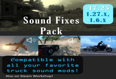 Sound Fixes Pack v17.25 - ATS