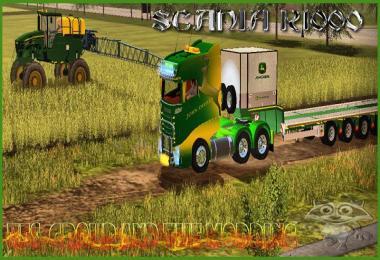 TFSG SCANIA R1000 JOHN DEERE v2.0